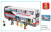 sluban luxurious double decker piece lego
