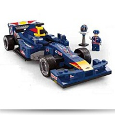124 Bull Racing Car 287 Pieces Building
