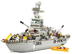 sluban navy cruiser pieces lego compatible