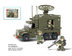 land forces rader piece lego compatible
