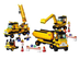 sluban construction equipment piece building block