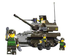 sluban tank piece building block lego