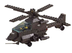 sluban apache helicopter pieces building blocks