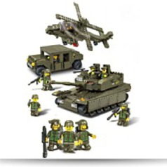 Amphibious Onrush 683 Pieces Building