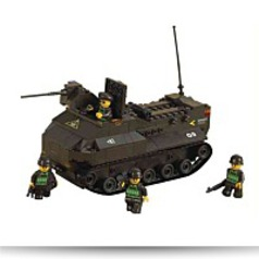Amphibious Tank 223 Piece Building Block