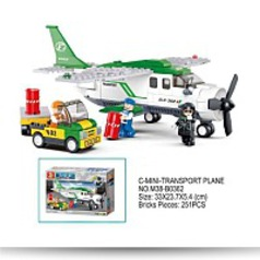 Aviation Cmini Transport Plane 251 Piece