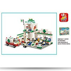 City Scene Emergency Center 376 Piece