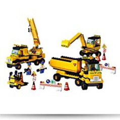 Construction Equipment 474 Piece Building
