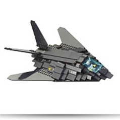 F117 Stealth Bomber 209 Pieces Building