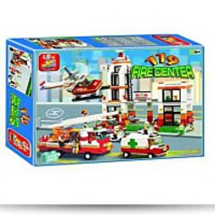 Fire Center Headquarters 830 Pieces Lego