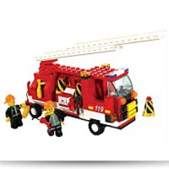 Fire Engine 175 Piece Building Block