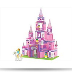 Girls Dream 472 Pieces Building Set