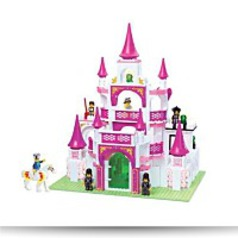 Girls Dream Castle 508 Pieces Building
