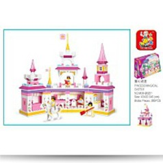 Girls Dream Magical Castle 385 Piece