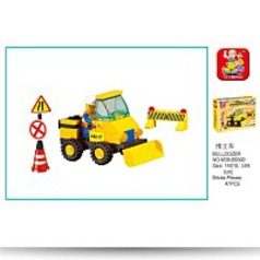 Heavy Engineering Bulldozer 47 Piece