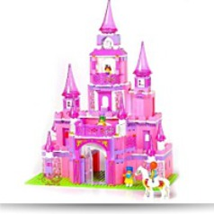 I Play Fairy Princess Pink Castle