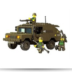 Land Forces Hummer Chariot 191 Piece