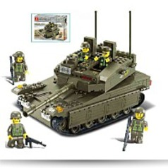 Merkava Tank 343 Pieces Building Blocks