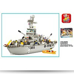 Navy Cruiser 577 Piece Building Block