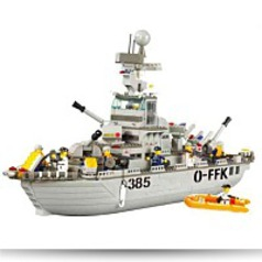 Navy Cruiser 577 Pieces Lego Compatible