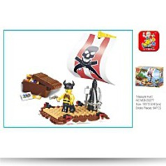 Pirate Treasure Hunt 64 Piece Set Lego