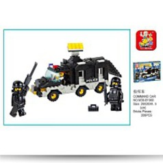 Riot Police Super Power Command Car 206