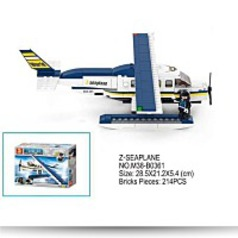 Sluban Aviation Zseaplane 214 Pieces