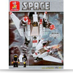Space ZX47 Navigator Armor 135 Pieces