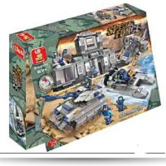 Specials Special Forces Headquarters 822 Pieces