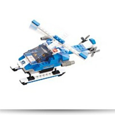 Specials Special Police Armed Helicopter 133 Piece