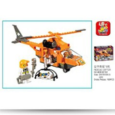 Srs Rescue Team Rescue Copter 160 Pieces