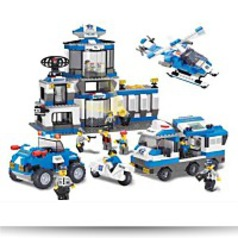 Swat Police Headquarters 859 Pieces Building