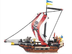 sluban warriors pirate ship pieces building