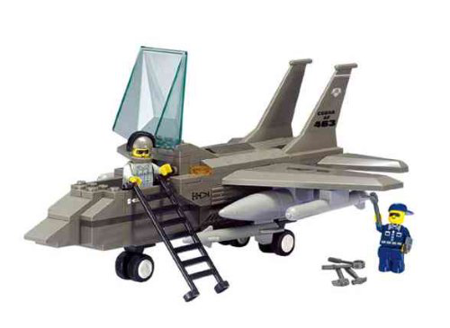Air Force F15 Fighter Jet 142 Pieces