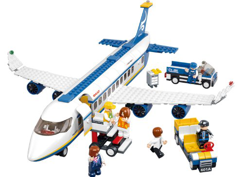 Aviation Air Bus Oversized Airplane Building